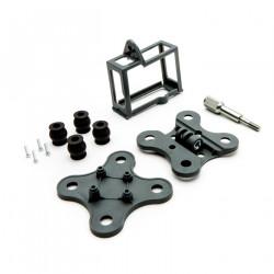Camera holder C-Go1 w/anti-vibration mount