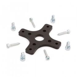 Carbon-Z Splendor -Support moteur en aluminium avec anneau plastique