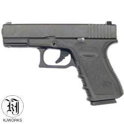 KJWORKS - G23 - GBB - Culasse ABS - BK - 1J - 6mm