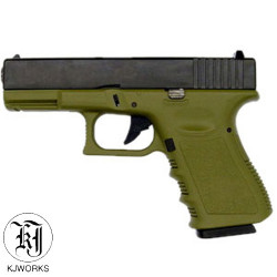 KJWORKS - G23 - GBB - Culasse ABS - OD- 1J - 6mm