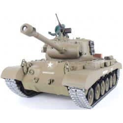 Léopard des neiges Pershing M26 1/16 RC Tank - Version Pro de tir