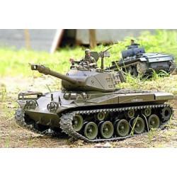Tank RC Bulldog avec de la fumée & son - métal mise à niveau version pro