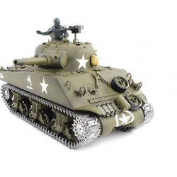 1/16th M4A3 Sherman RC Tank With Smoke, Sound And BB Gun - Metal Upgrade Pro Version