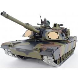 1/16 M1A2 Abrams tir Tank RC - peinture de Camouflage - Version Pro