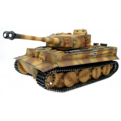 Taigen Hand Painted RC Tanks - Full Metal Upgrade Version - Tiger Camo - 2.4GHz