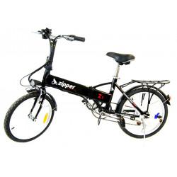 Z1 - Vélo Pliant Electrique Compact 7 Vitesses UK 20 - Noir
