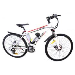 Z6 - Edition Ultime Vélo Electrique de Montagne 21 Vitesses 26 - Blanc