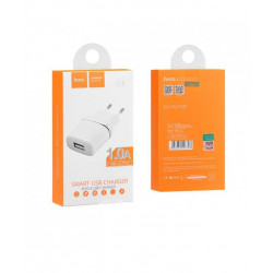 HOCO Travel Charger - 1A plug C11 white hoco charger