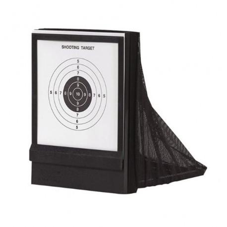 Kgear - Cible filet avec 25 cibles papier