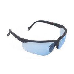 Lunette de protection design - Polycarbonate Bleu