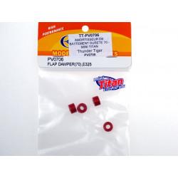 AMORTISSEUR DE BATTEMENT DURETE 70 - MINI TITAN (PV0706)