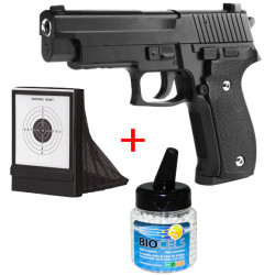 SIG P226 Full Metal Black - 0.5J - Spring - PACK B
