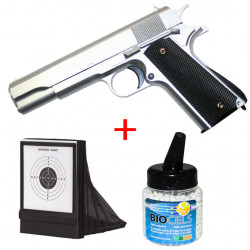 1911 Full Metal sliver - 0.5J - Spring - PACK B