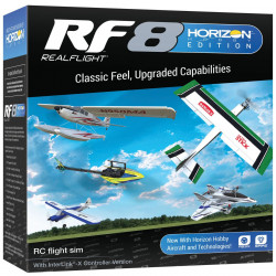 RF8 Simulator Horizon Hobby Edition with InterLink-X Controller (RFL1000)