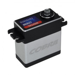 SERVO STANDARD COBRA DIGITAL CD7015TG-64G-7,4V 16KG-0,16SEC-P. TITANE (CD7015TG)
