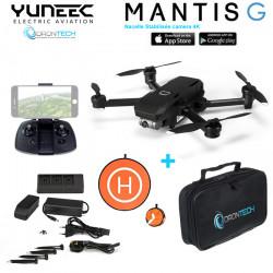 Drone Yuneec Mantis G Gimbal 3 Axes & Waypoints (YUNMGEU)