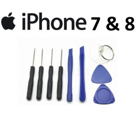 KIT OUTILS IPHONE 7 ou 8 TOURNEVIS OUVERTURE REPARATION