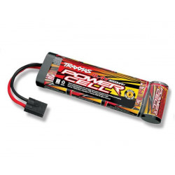 Battery Power Cell 3000mAh (NiMH - 7C flat - 8.4V) (2923)