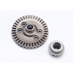 Ring gear, differential/ pinion gear, differential (rear) (6879)