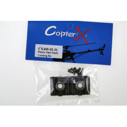 CopterX - Plastic Main Shaft Locating Set (CX450-03-31)