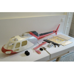 Eurocopter AS550 Military (Class 600) White/Grey/Red