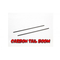 Carbon Tail Boom -2pcs (MCPX)