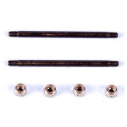Feathering shaft set