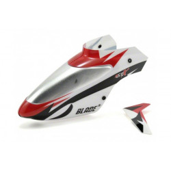 Complete White Canopy w/ Vertical Fin: MSRX (BLH3218)