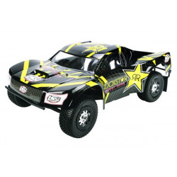 XXX - SCT Rockstar 1/10th RTR - Black and Yellow (LOSB0108)