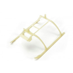 Landing Skid and Battery Mount, Glow in Dark: MSRX (BLH3204GL)