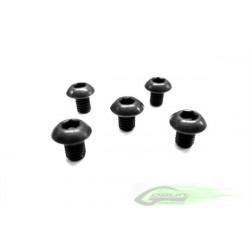 DIN 12.9 Button Head Socket Cap M3x4 (5pcs)