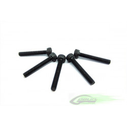 DIN 12.9 Socket Head Cap M3x20 (5pcs)