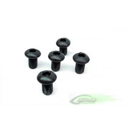 DIN 12.9 Button Head Socket Cap M6x10 (5pcs)