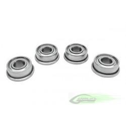 ABEC-5 Flanged bearing Ø3 x Ø7 x3 (4pcs)