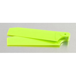 72mm Tail Blades Fits TREX 500 Neon Lime (4031)