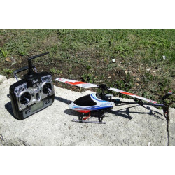 HELICO ELECTRIQUE COMPLET EASYCOPTER STAR 2,4GHZ MODE 1 (RC3200)