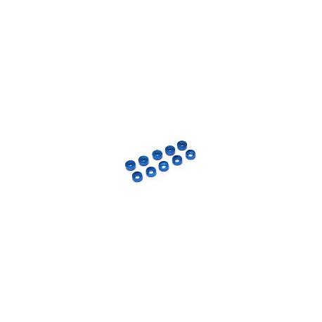 Countersunk washer M2 (10pcs -Blue)