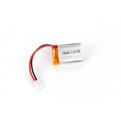 Li-po Battery 3.7v, 240 mah 25C (for Genius CP,Mini CP)