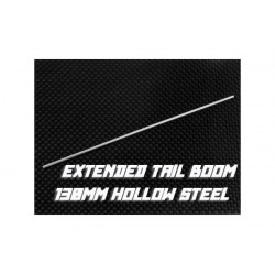 Extended Tail Boom 130mm (Hollow Steel )- 1 pcs, MCPX