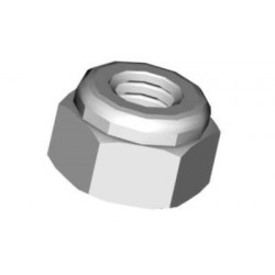 Hex lock nut M4 (02076)