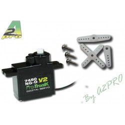 Micro Servo Numerique 7450 NG-D V2 (2.3kg / 0.098s) (77450)