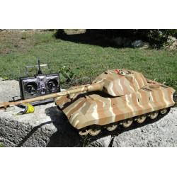 HengLong Tank KING TIGER 1:16 - Desert Camouflage (3888-1)