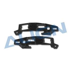 T-Rex 450 Sport V2 - Carbon Main Frame(U) set (H45147T)