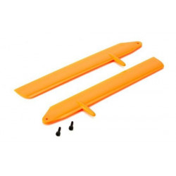 B130X - Fast Flight Main Rotor Blade Set - Orange (BLH3715OR)
