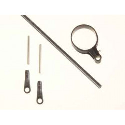 Carbon control rod for tail LOGO 400 SE (04462)