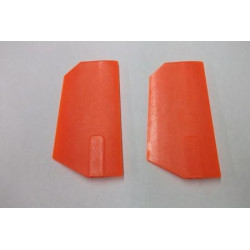 Tony Whiteside Extreme Edition Paddles - 50/600 size - Neon Orange (4253)