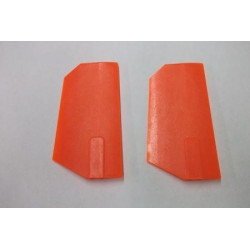 Tony Whiteside Extreme Edition Paddles - 90/700 size - Neon Orange (4257)