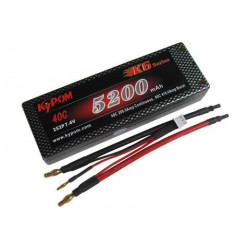 KTCAR5200/40-2S2P Hardcase Lipo Batteries