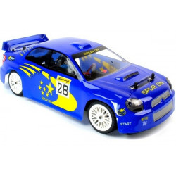 Vanguard Subaru Brushless Radio Controlled Car - RTR - Blue (A2001T-V2SUBARU)