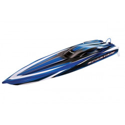Spartan Brushless Boat 36inch with TQi 2.4Ghz Intelligent Radio System Blue RTR (5707)